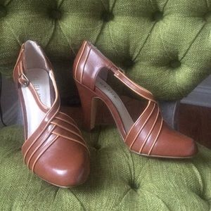 Modcloth x Chelsea Crew Brown Mary Jane Heel